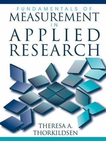 Resim Fundamentals of Measurement in Applied Research