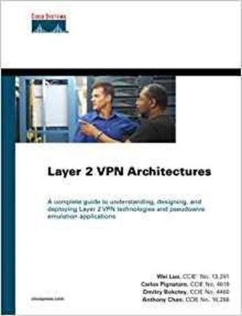 Resim Layer 2 VPN Architectures: Pseudo Wire Emulation