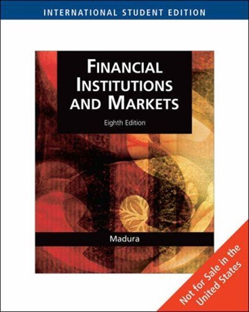 Resim Financial Institutions and Markets 8e