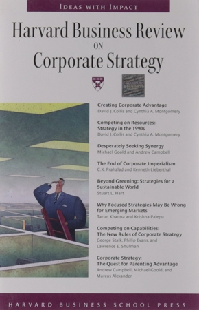 Resim Harvard Business Review on Corporate Strategy