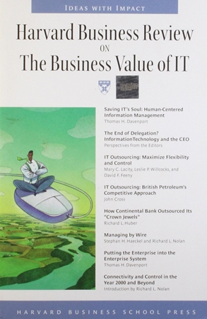 Resim Harvard Business Review on the Business Value of IT