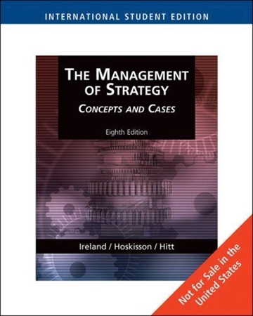 Resim The Management of Strategy:Concepts and Cases