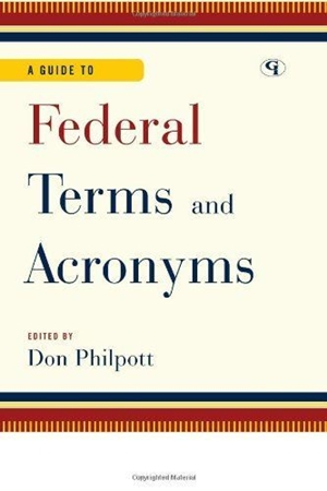 Resim A Guide to Federal Terms and Acronyms
