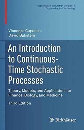 Resim An Introduction to Continuous-Time Stochastic Processes 3e