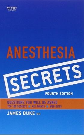 Resim Anesthesia Secrets 4e