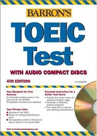 Resim Barron's TOEIC Test 4e