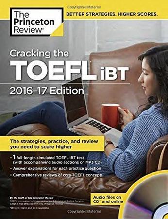 Resim Cracking the TOEFL Ibt with Audio CD, 2016-2017