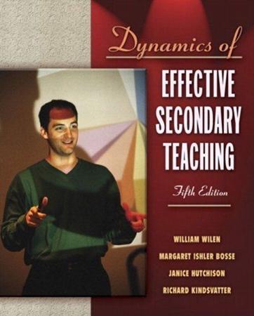 Resim Dynamics of Effective Secondary Teaching 5e