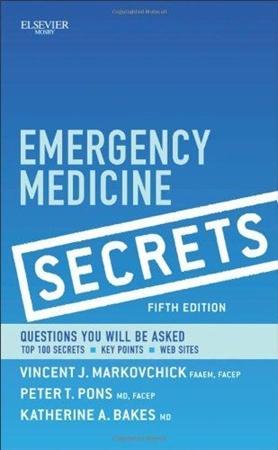 Resim Emergency Medicine Secrets 5e