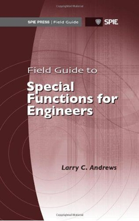 Resim Field Guide to Special Functions for Engineers