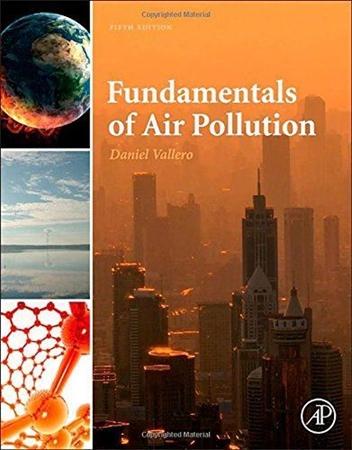 Resim Fundamentals of Air Pollution 5e