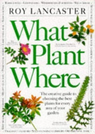 Resim What Plant Where: The Creative Guide to Choosing the Best Plants for Every Area of Your Garden