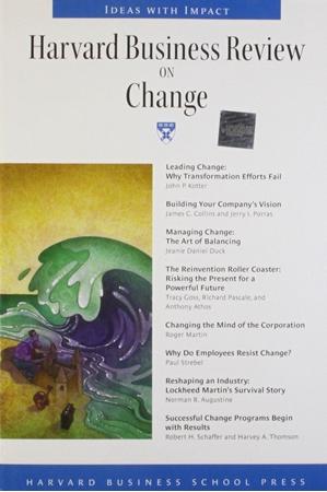 Resim Harvard Business Review on Change 6e