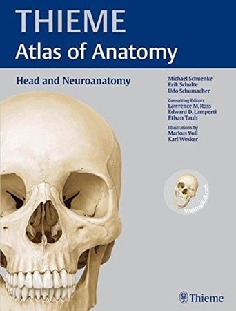 Resim Atlas Of Anatomy: Head And Neuroanatomy