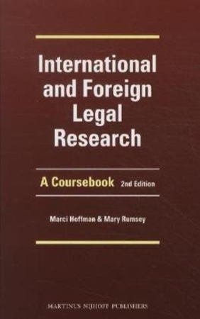 Resim International and Foreign Legal Research 2e