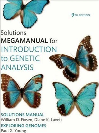 Resim Introduction to Genetic Analysis: Solutions Manual