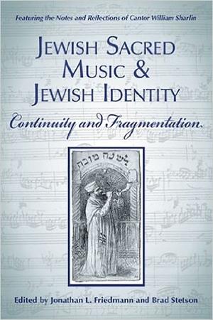 Resim Jewish Sacred Music and Jewish Identity