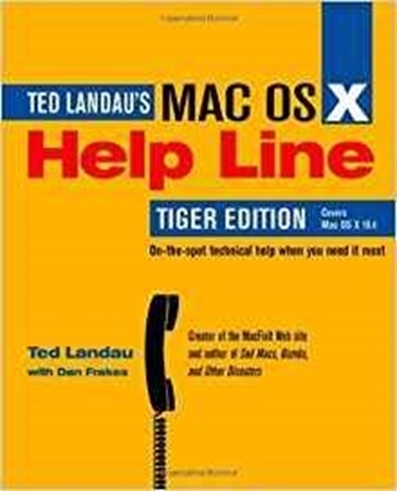 Resim MAC OS X Help Line: Tiger Edition