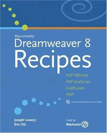 Resim Macromedia Dreamweaver 8 Recipes