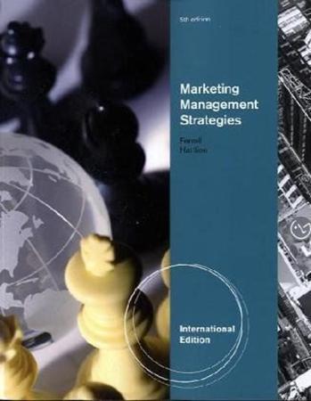 Resim Marketing Management Strategies 5e