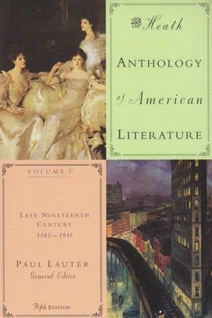 Resim The Heath Anthology of American Literature: v. C, D & E