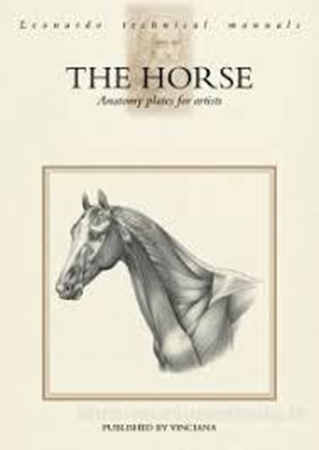 Resim The Horse, Anatomy Plates for Artists