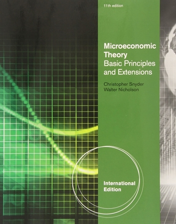 Resim Microeconomic Theory: Basic Principles and Extensions