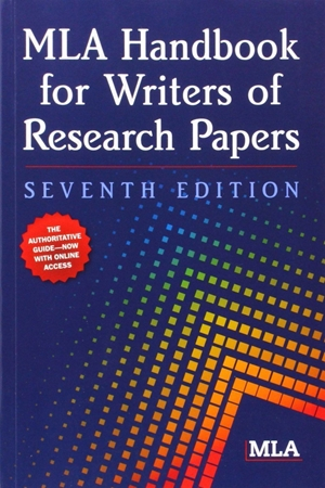Resim MLA Handbook for Writers of Research Papers 7e