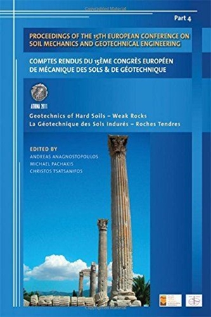 Resim Proceedings of the 15th European Conference on Soil Mechanics and Geotechnical Engineering