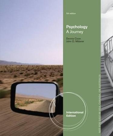Resim Psychology: A Journey 5e