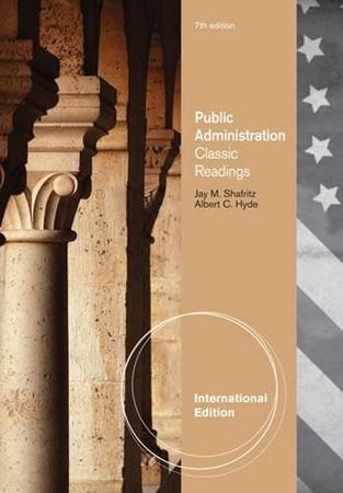 Resim Public Administration: Classic Readings 7e