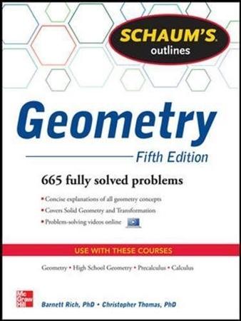 Resim Schaum's Outline of Geometry 5e