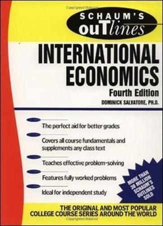 Resim Schaum's Outline of International Economics