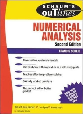 Resim Schaum's Outline of Numerical Analysis 2e