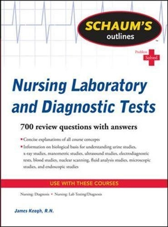 Resim Schaum's Outline of Nursing Laboratory and Diagnostic Tests