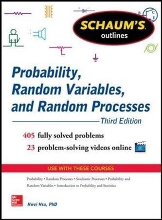 Resim Schaum's Outline of Probability, Random Variables, and Random Processes
