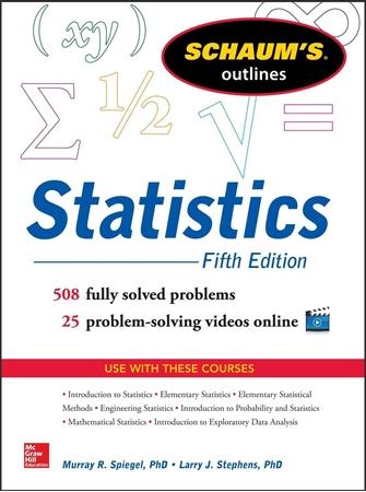Resim Schaum's Outline of Statistics 5e
