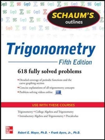 Resim Schaum's Outline of Trigonometry 5e