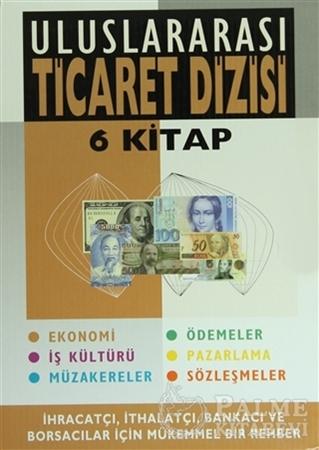 Resim Uluslararası Ticaret Dizisi 6 Kitap Özel Kabı İçinde