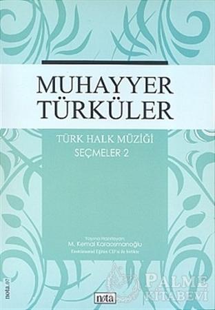 Resim Muhayyer Türküler Türk Halk Müziği Seçmeler: 2
