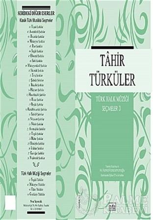 Resim Tahir Türküler Türk Halk Müziği Seçmeler: 3