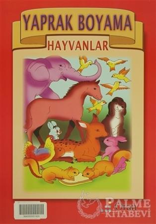 Resim Yaprak Boyama - Hayvanlar