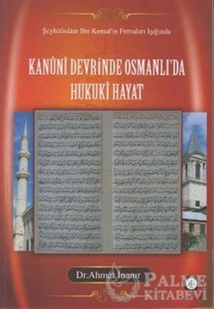 Resim Kanuni Devrinde Osmanlı'da Hukuki Hayat