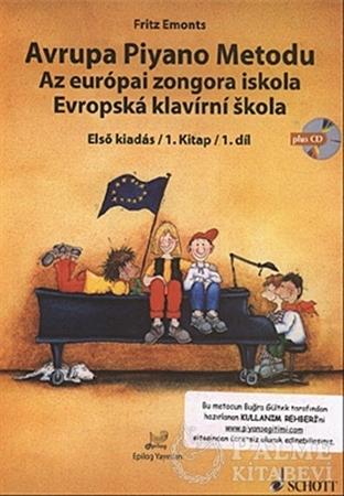 Resim Avrupa Piyano Metodu - Az Europai Zongora İskola - Evropska Klavirni Skola