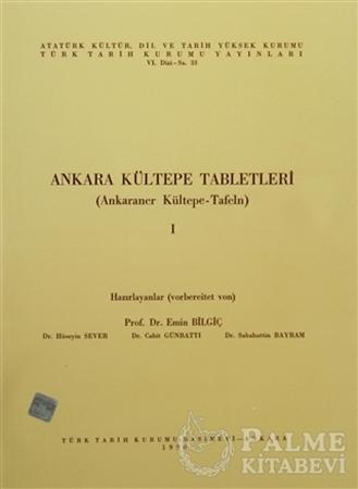 Resim Ankara Kültepe Tabletleri 1 (Ankaraner Kültepe-Tafeln)