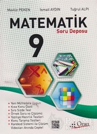 Resim 9. Sınıf Matematik Soru Deposu