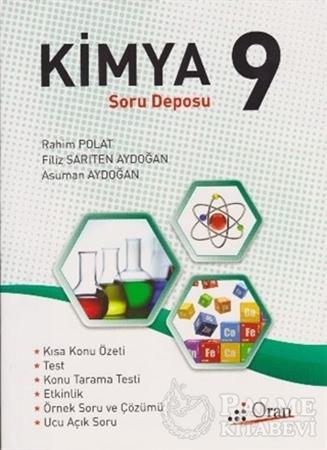 Resim 9. Sınıf Kimya Soru Deposu