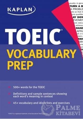 Resim Kaplan TOEIC Vocabulary Prep