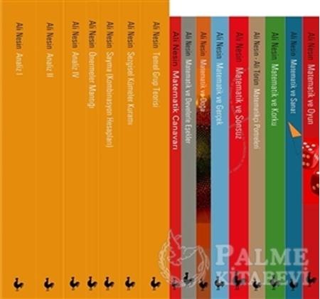 Resim Ali Nesin'in Matematik Kitapları (16 Kitap Takım)