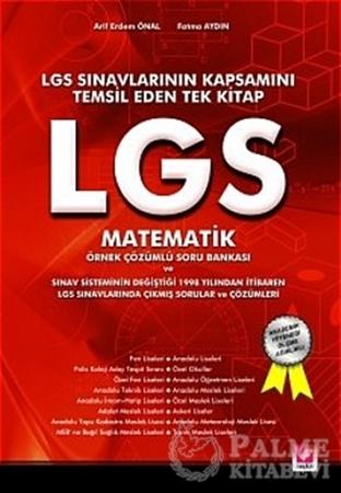 Resim LGS Matematik, Örnek Çözümlü Soru Bankası